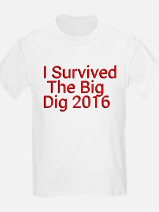 I Survived The Big Dig 2016 T-Shirt