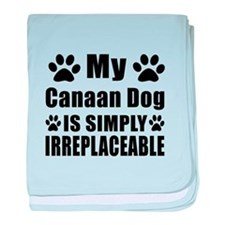 Canaan Dog is simply irreplaceable baby blanket