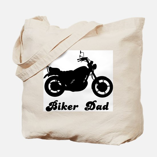 Biker Dad Tote Bag