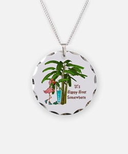 It's Happy Hour Somewhere Necklace