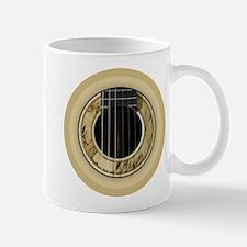 Guitar Round Mugs