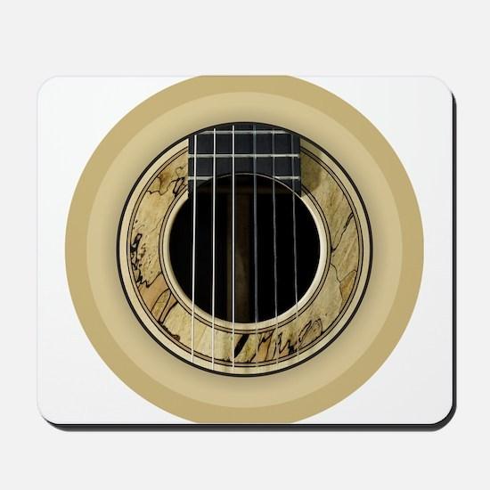 Guitar Round Mousepad
