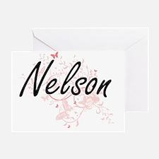 Cute I heart nelson Greeting Card