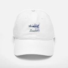 Acoustical Scientist Artistic Job Design with Baseball Baseball Cap