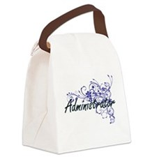 Administrator Artistic Job Design Canvas Lunch Bag