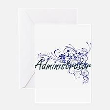 Administrator Artistic Job Design w Greeting Cards