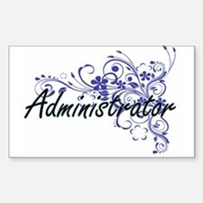 Administrator Artistic Job Design with Flo Decal