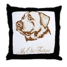 Anatolian Shepherd Throw Pillow