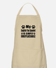 English Toy Spaniel is simply irreplaceable Apron