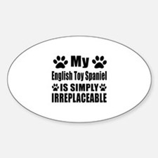 English Toy Spaniel is simply irrep Decal