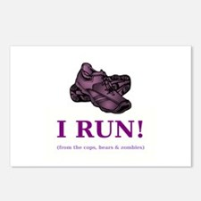 I RUN! Postcards (Package of 8)
