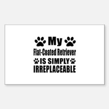 Flat-Coated Retriever is simpl Decal