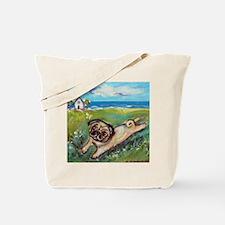 Funny Baby vacation Tote Bag