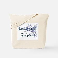 Architectural Technician Artistic Job Des Tote Bag