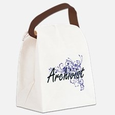 Archivist Artistic Job Design wit Canvas Lunch Bag