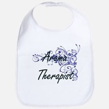 Aroma Therapist Artistic Job Design with Flowe Bib