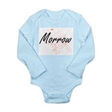 Morrow surname artistic design with Butt Body Suit