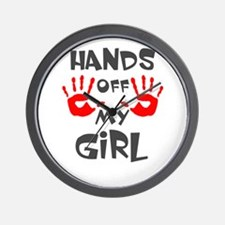 Cute Hands off Wall Clock