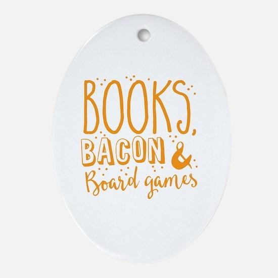 Unique Novels Oval Ornament