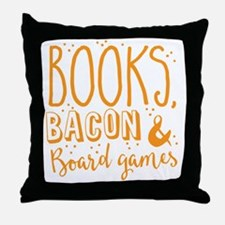 Funny Geeky Throw Pillow