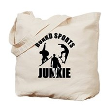 Boardsports Junkie Tote Bag
