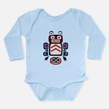Creation Beaver Long Sleeve Infant Bodysuit