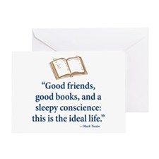 Good friends Greeting Cards