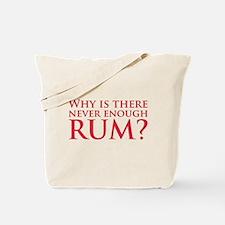 Never enough rum? Tote Bag