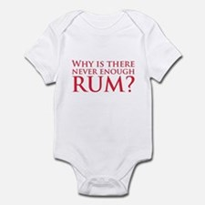 Never enough rum? Infant Bodysuit