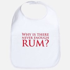 Never enough rum? Bib