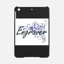 Engraver Artistic Job Design with F iPad Mini Case