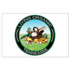 Living Organic Tennessee Posters