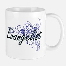 Evangelist Artistic Job Design with Flowers Mugs