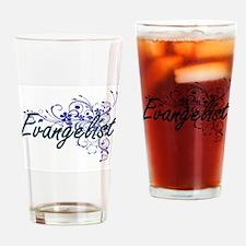 Evangelist Artistic Job Design with Drinking Glass