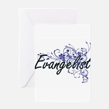 Evangelist Artistic Job Design with Greeting Cards