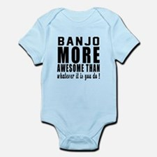 Banjo More Awesome Instrument Infant Bodysuit