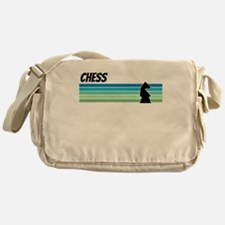 Retro 1970s Chess Messenger Bag