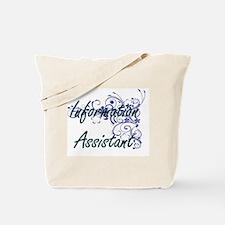 Information Assistant Artistic Job Design Tote Bag