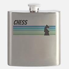 Retro 1970s Chess Flask