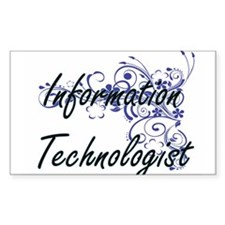 Information Technologist Artistic Job Desi Decal