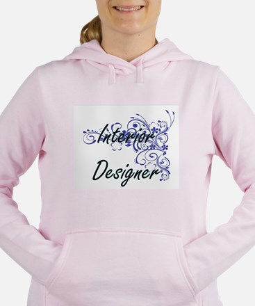 Interior Designer Artist Women's Hooded Sweatshirt