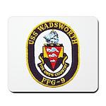 USS WADSWORTH Mousepad