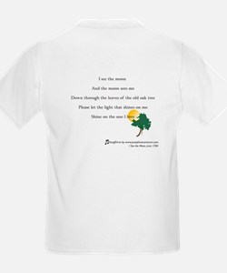 SongShirts: I See the Moon Kid's T-Shirt