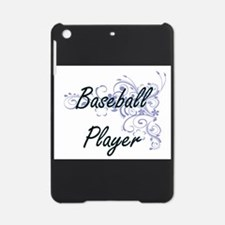 Baseball Player Artistic Job Design iPad Mini Case