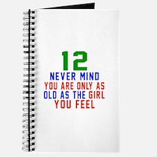 12 Never Mind Birthday Designs Journal