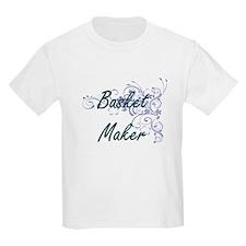 Basket Maker Artistic Job Design with Flow T-Shirt