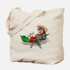 Parrot Beach Chair Tote Bag