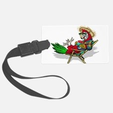 Parrot Beach Chair Luggage Tag