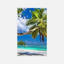 Tropical Beach Area Rug