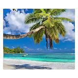 Beautiful beach Luxe King Duvet Cover